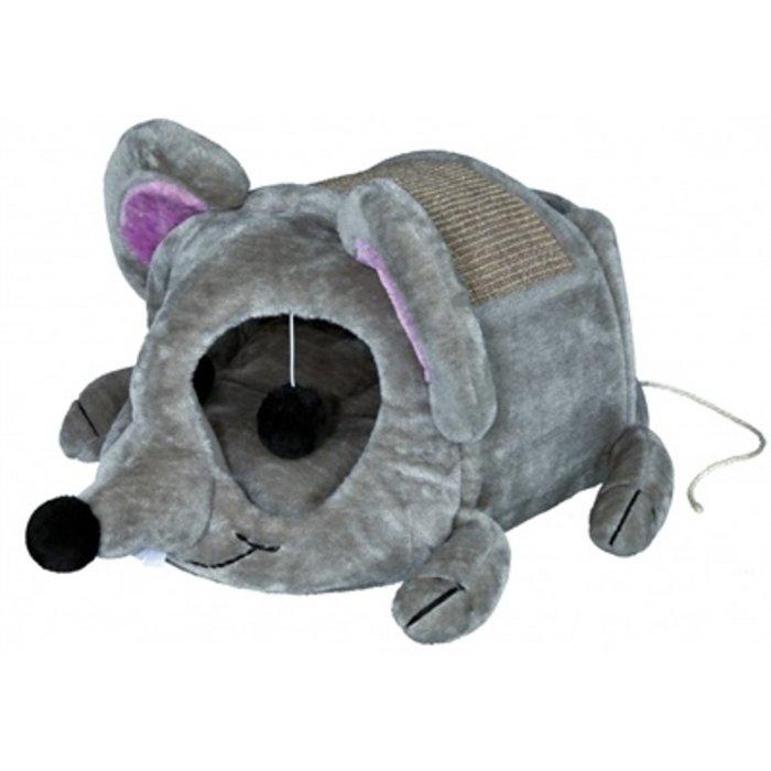 Trixie kattenmand lukas muis grijs / taupe