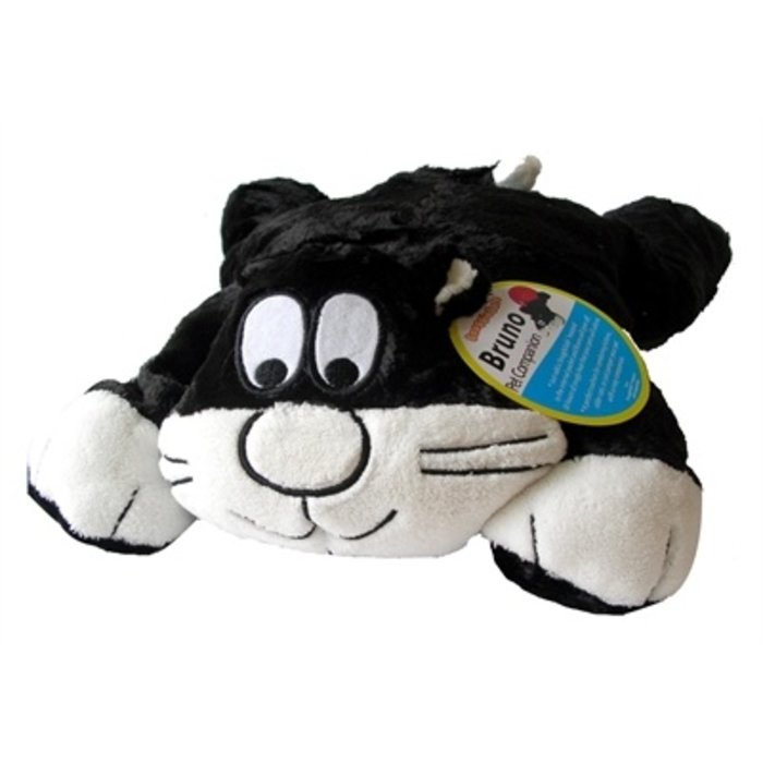 Snugglesafe kussen bruno kat voor warmteschijf