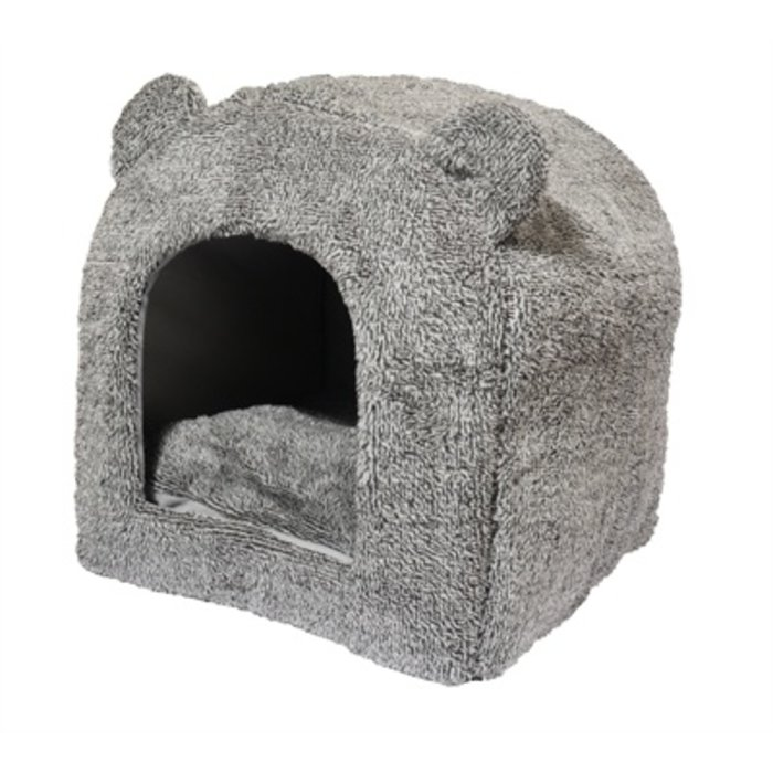 Rosewood kattenmand iglo teddy grijs