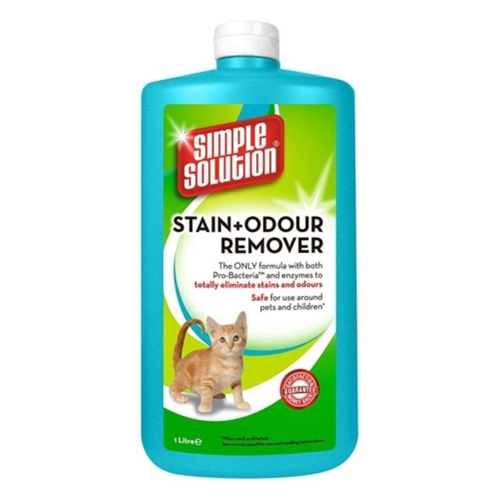 Simple solution stain & odour vlekverwijderaar kat navulling