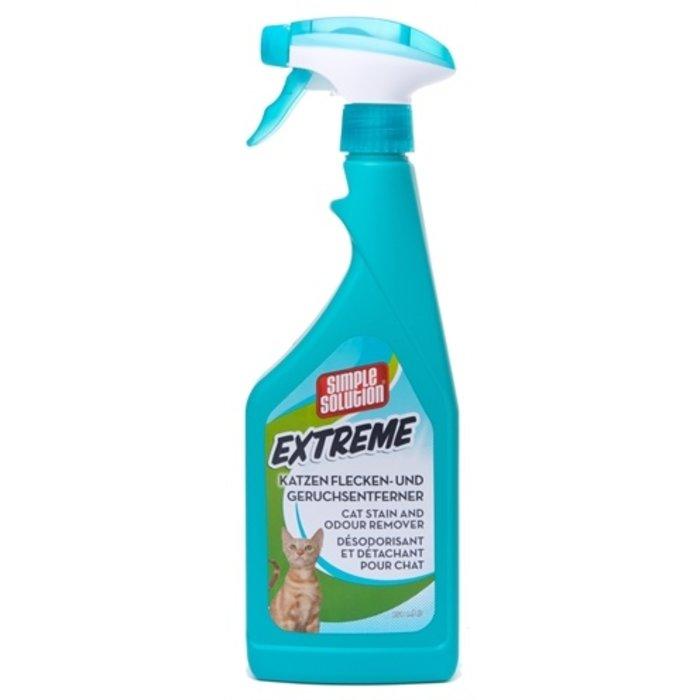 Simple solution stain & odour vlekverwijderaar kat extreme