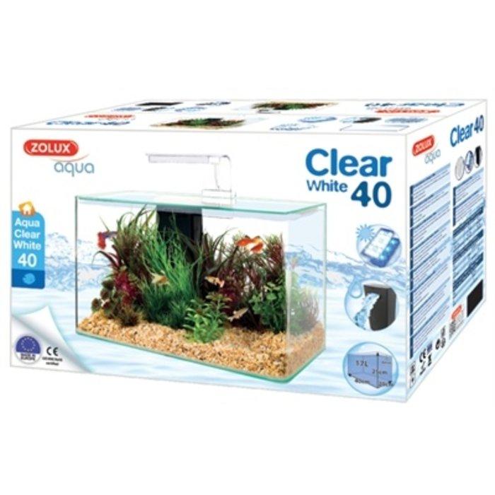 Zolux aquarium clear kit wit