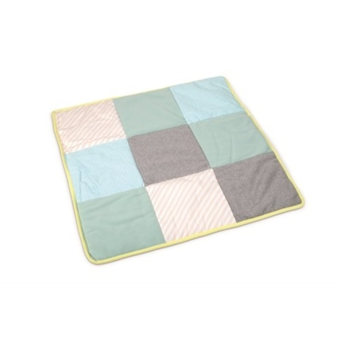 Beeztees puppy hondendeken plaid quilty