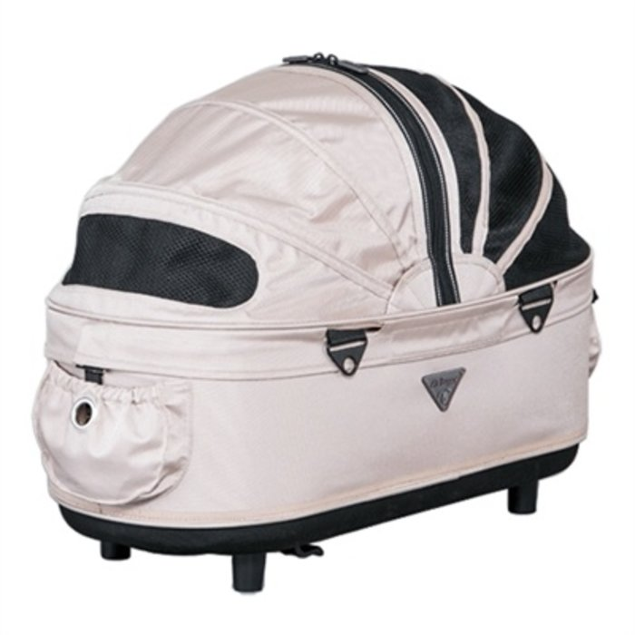 Airbuggy reismand hondenbuggy dome2 m cot sand beige