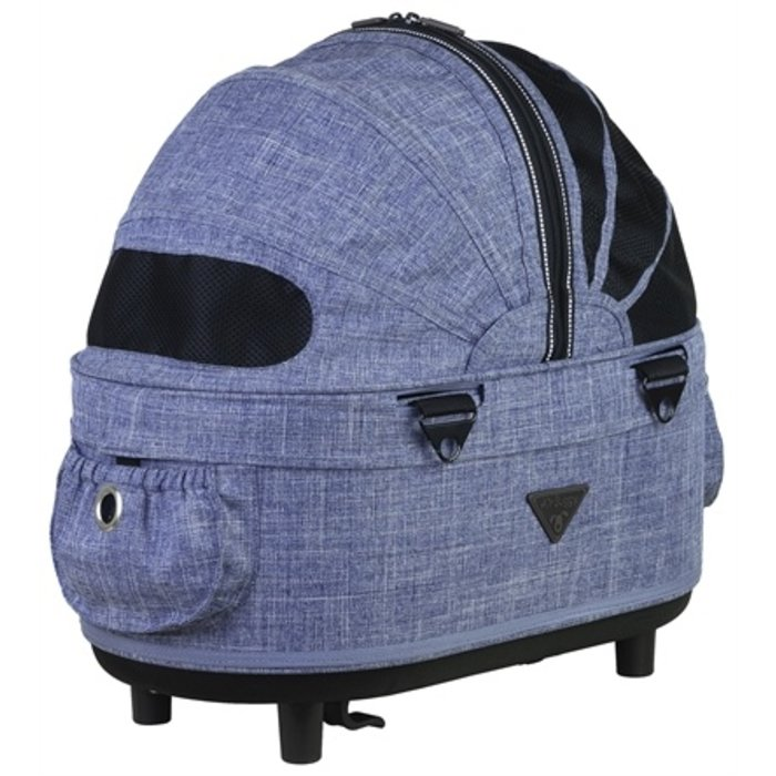Airbuggy reismand hondenbuggy dome2 sm cot earth blauw