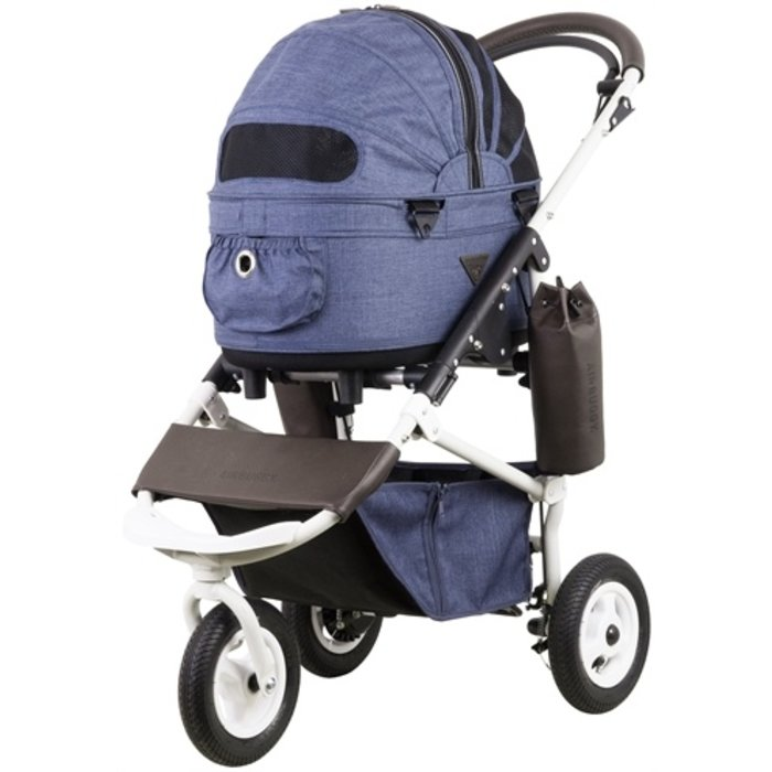 Airbuggy hondenbuggy dome2 sm met rem earth blauw