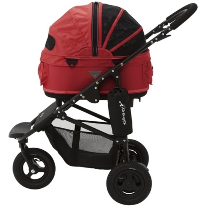 Airbuggy hondenbuggy dome2 sm met rem tango rood