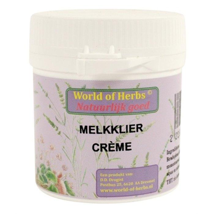World of herbs fytotherapie melkklier creme
