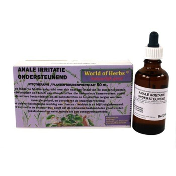 World of herbs fytotherapie anale irritatie