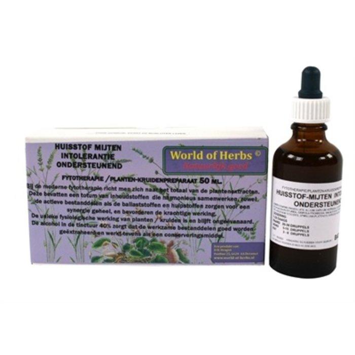 World of herbs fytotherapie huisstof mijten intolerantie