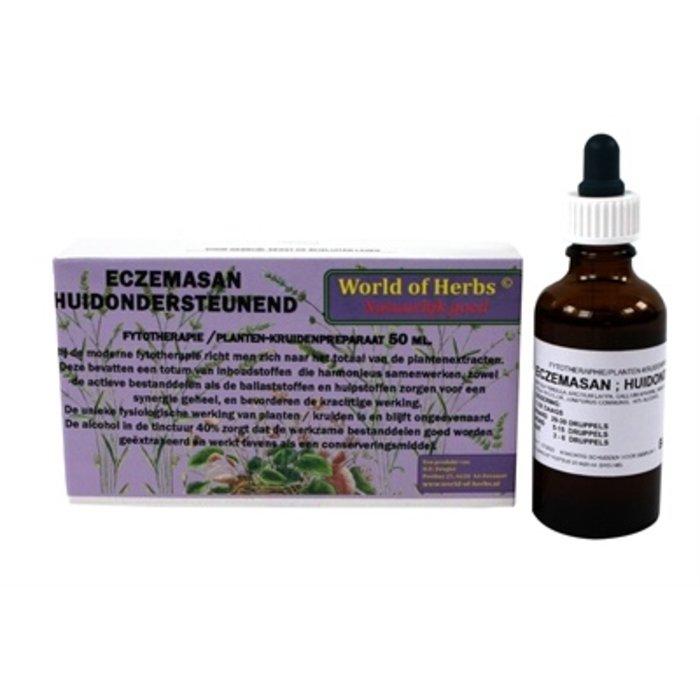 World of herbs fytotherapie eczemasan
