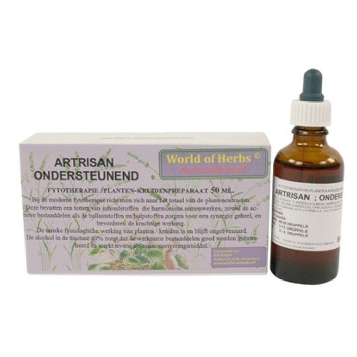 World of herbs fytotherapie artrisan