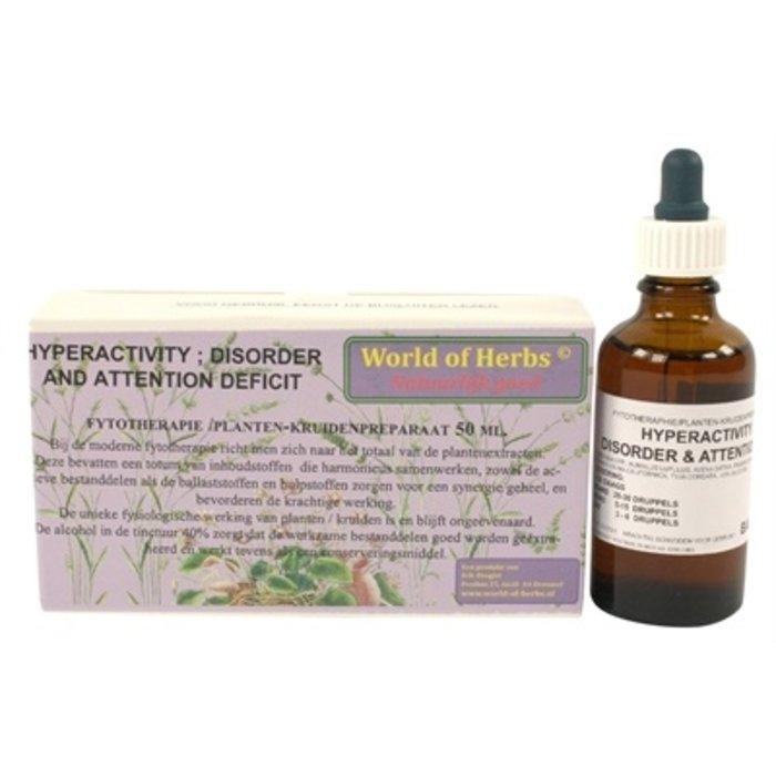 World of herbs fytotherapie hyperactiviteit