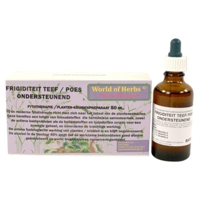World of herbs fytotherapie frigiditeit