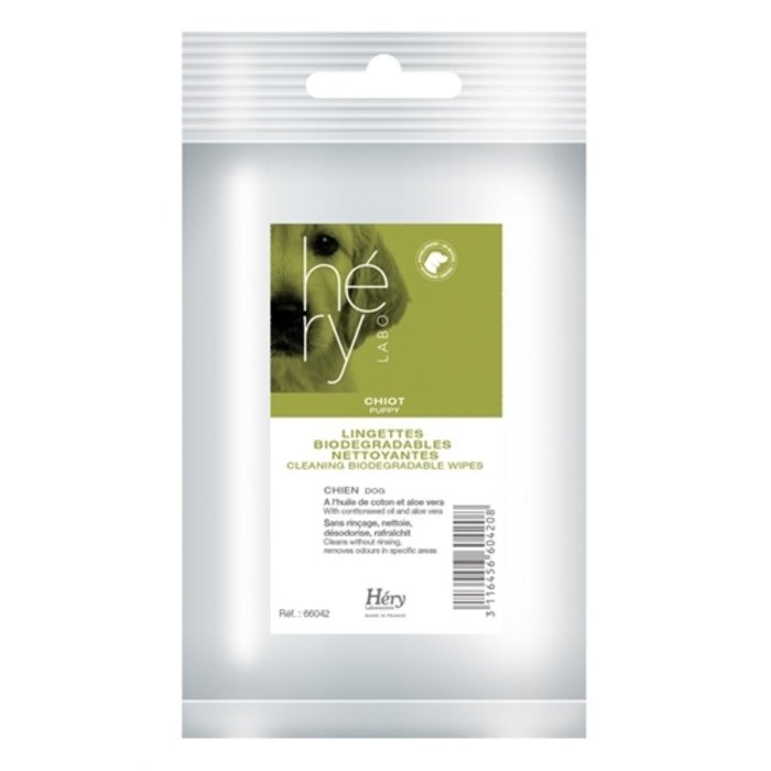 Hery cleaning wipes puppy