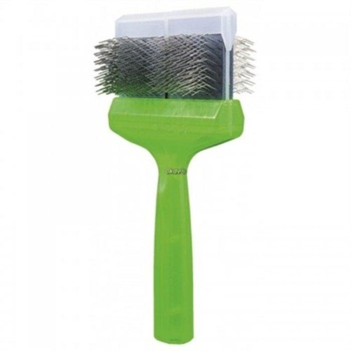 Activet borstel mega pro zacht groen
