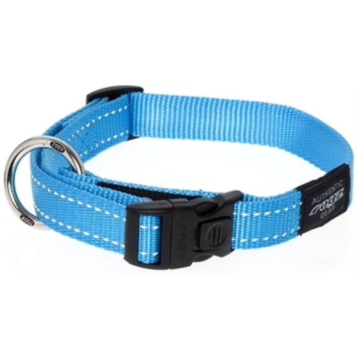 Rogz for dogs fanbelt halsband turquoise
