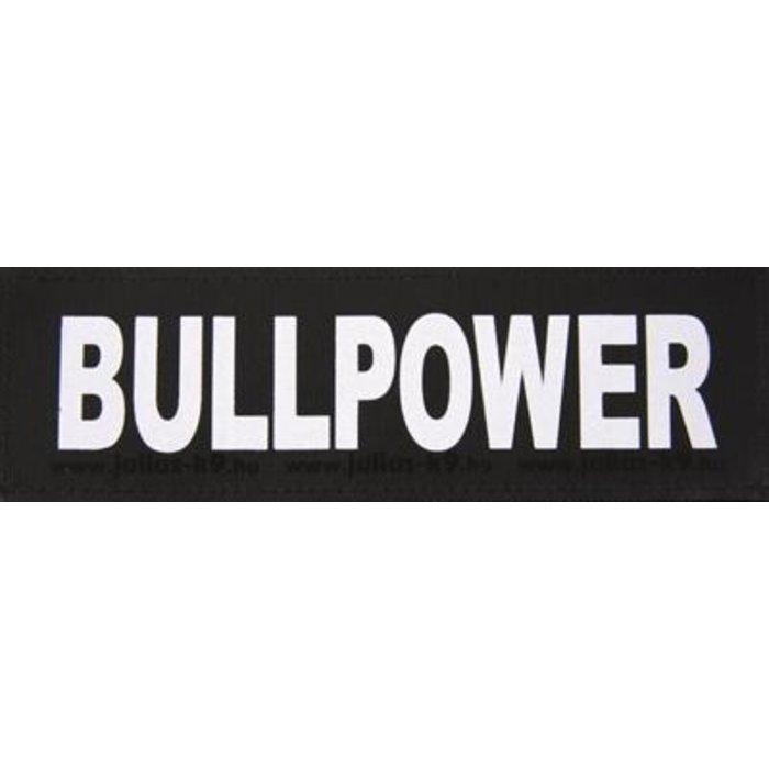 Julius k9 labels voor power-harnas/tuig bullpower