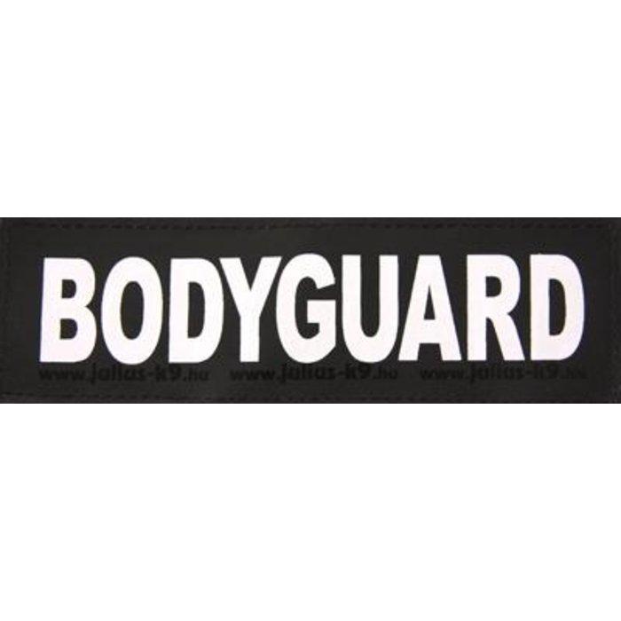 Julius k9 labels voor power-harnas/tuig bodyguard