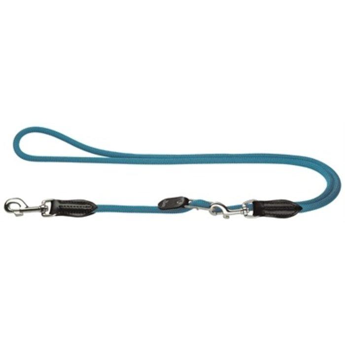 Hunter hondenriem freestyle vario lichtblauw
