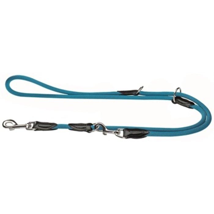 Hunter hondenriem freestyle verstelbaar turquoise