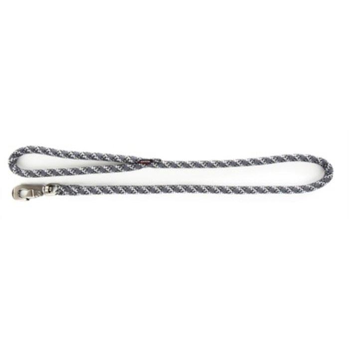 Looplijn nylon reflecterend grijs
