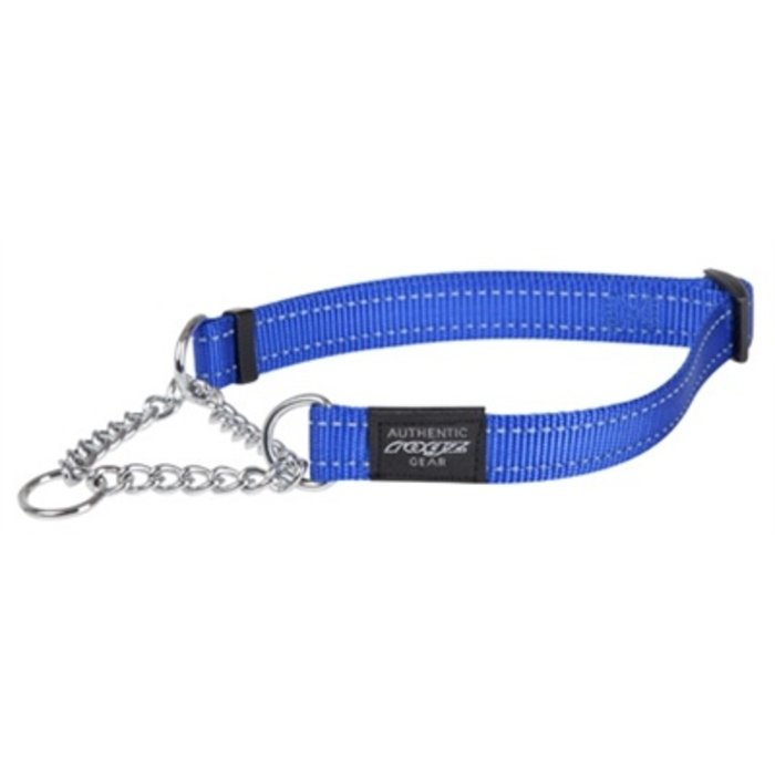 Rogz for dogs fanbelt choker blauw
