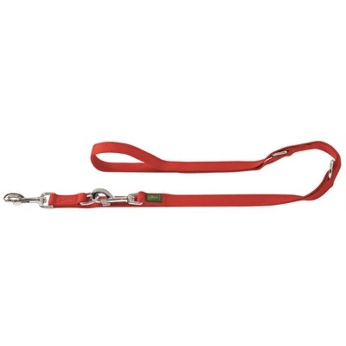 Hunter trainingslijn nylon rood