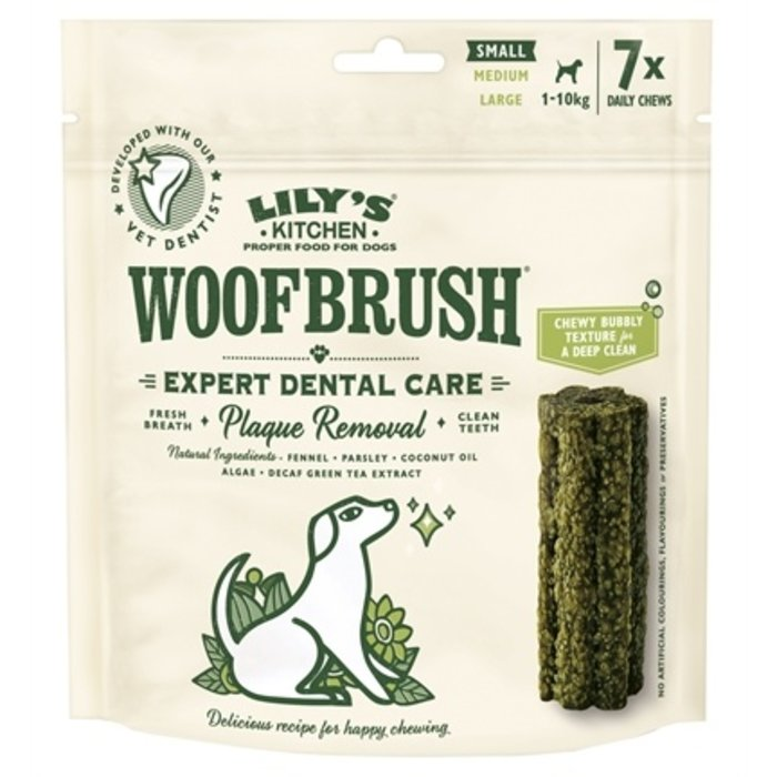 Lily's kitchen dog woofbrush dental care