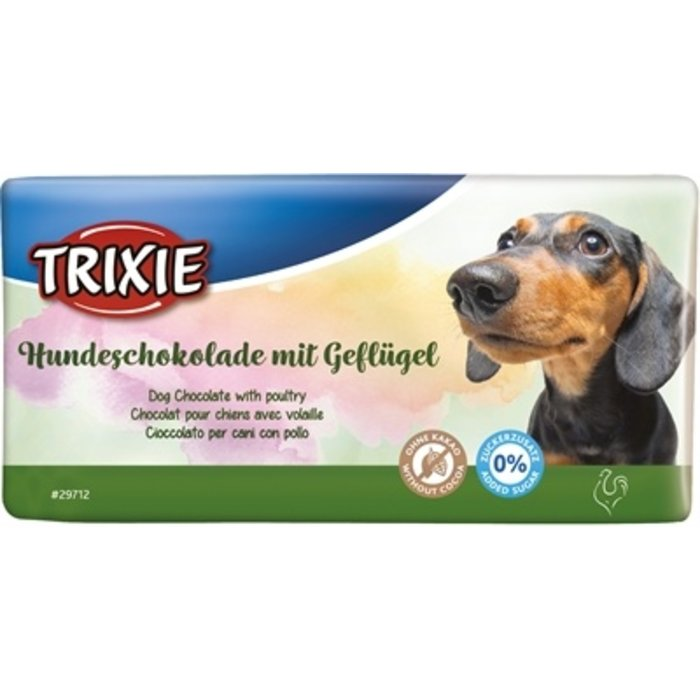 Trixie hondenchocolade met gevogelte