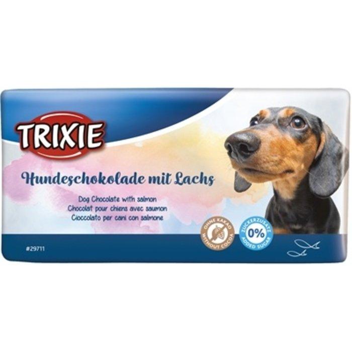 Trixie hondenchocolade met zalm