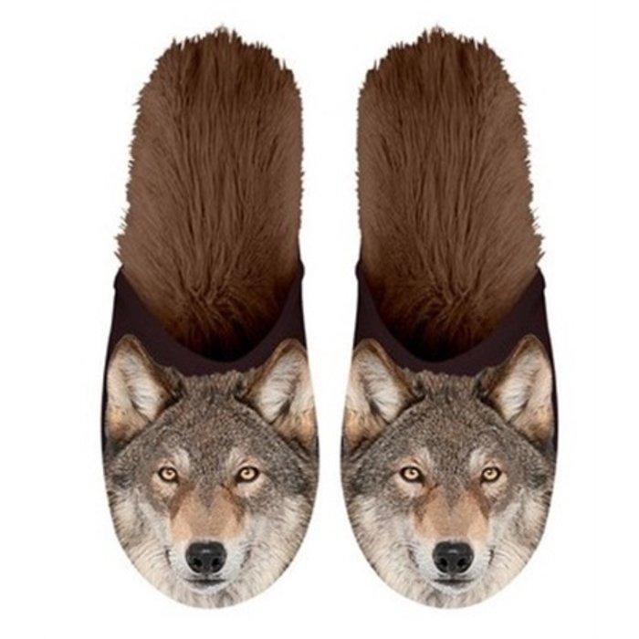 Plenty gifts pantoffel wolf
