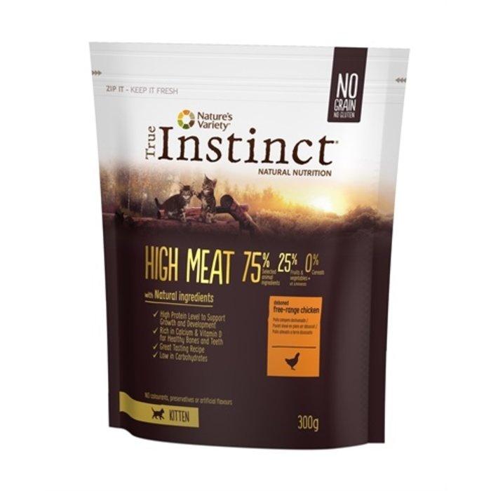 True instinct high meat kitten