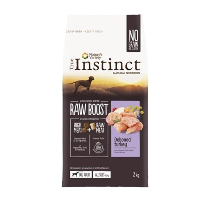 True instinct raw boost medium adult turkey