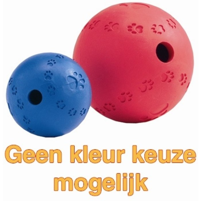 Snackbal rubber