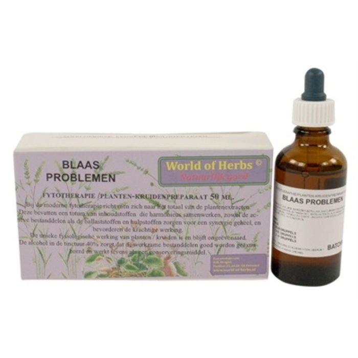 World of herbs fytotherapie blaas problemen