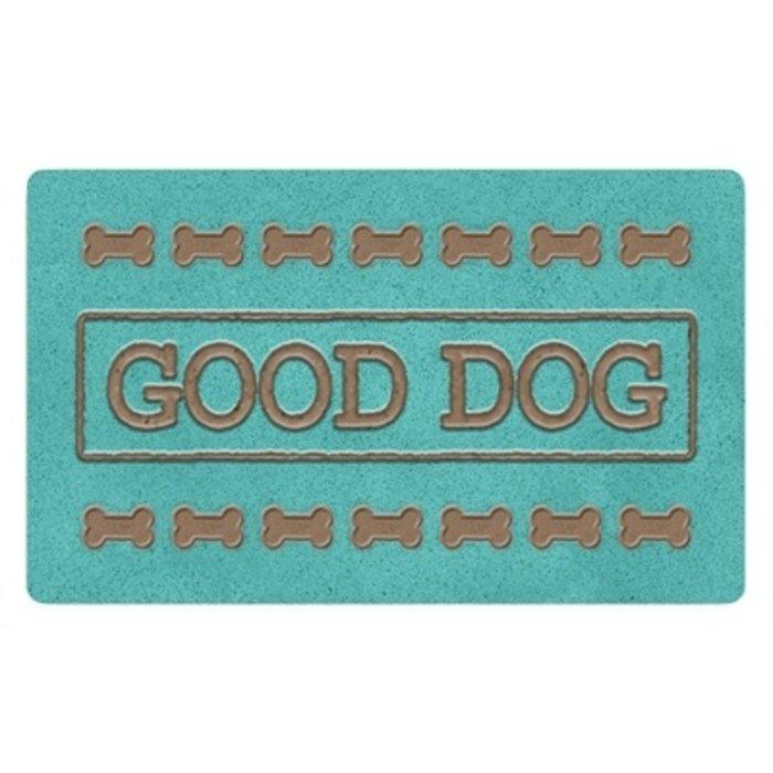 Tarhong placemat good dog turquoise