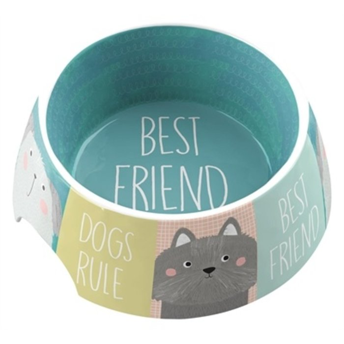 Tarhong voerbak best friends forever melamine multi