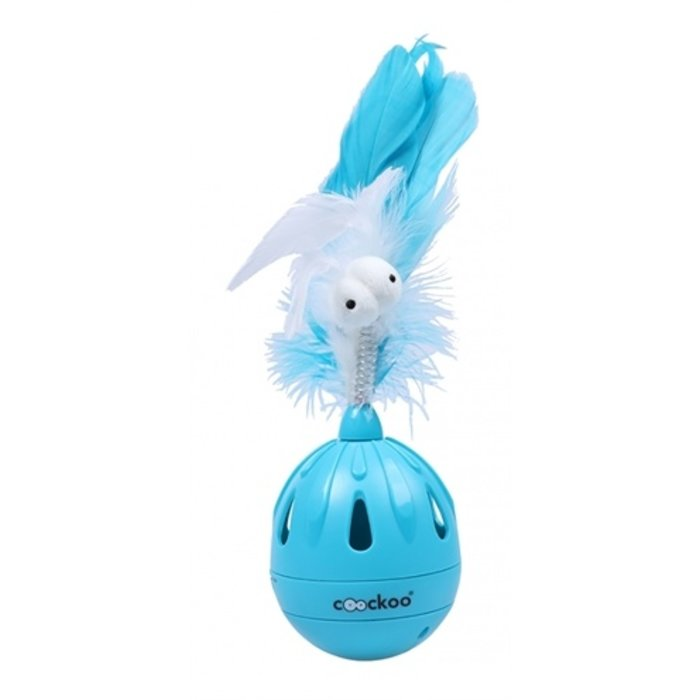 Coockoo cattoy tumbler tuimerlaar blauw