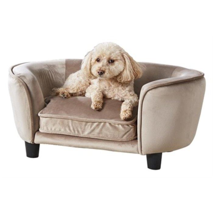 Enchanted hondenmand / sofa coco stone lichtbruin