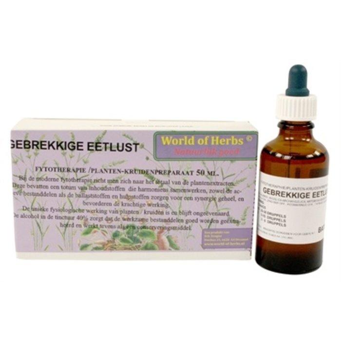 World of herbs fytotherapie gebrekkige eetlust
