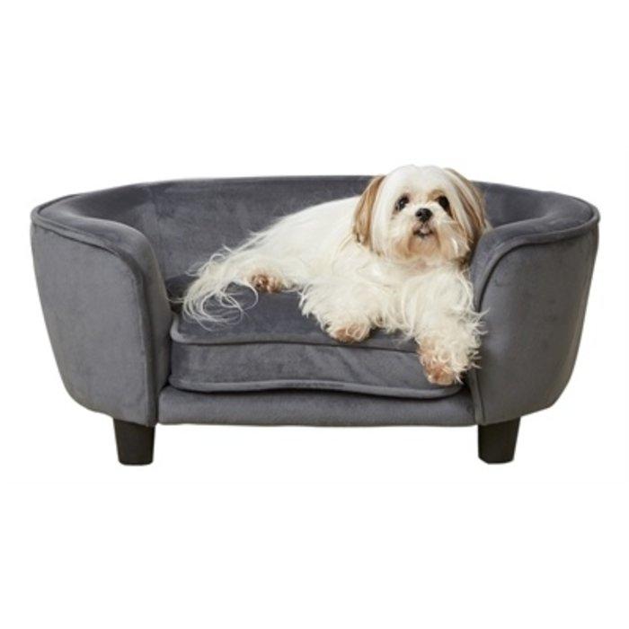 Enchanted hondenmand / sofa coco donkergrijs