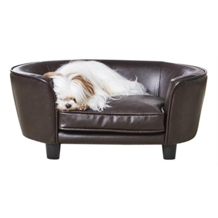 Enchanted hondenmand / sofa coco pebble bruin