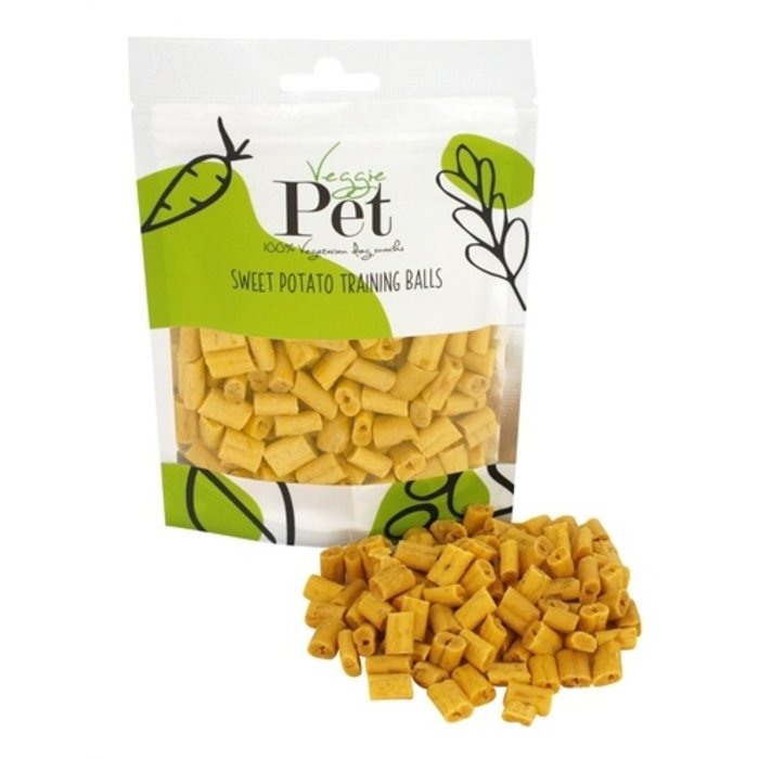 Veggie pet sweet potato training balls