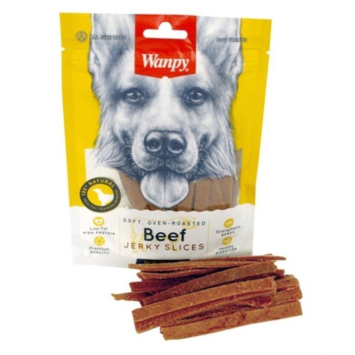 Wanpy soft beef jerky slices