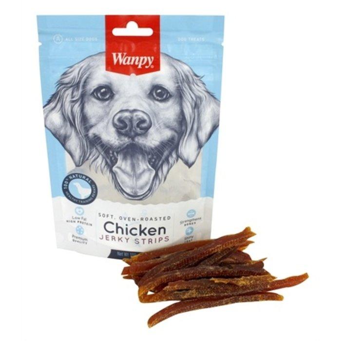 Wanpy soft oven-roasted chicken jerky strips