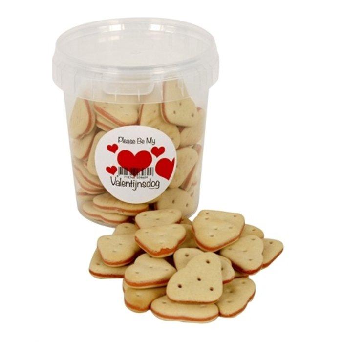 I am valentijn koekhartjes zalm