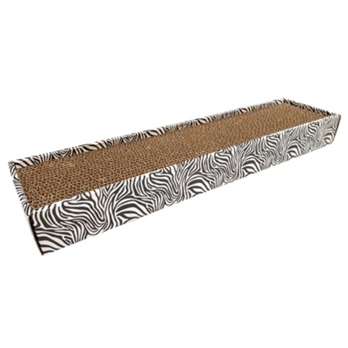 Croci krabplank homedecor dierenprint zebra