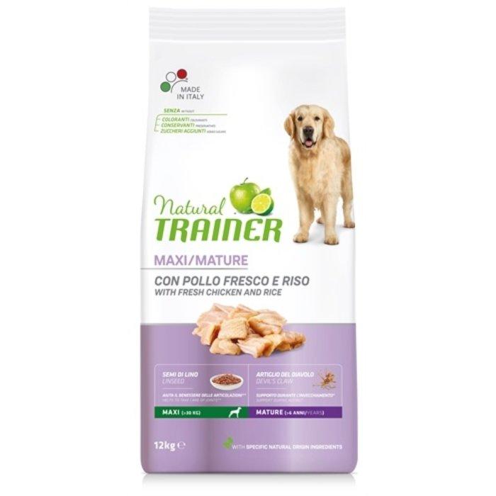 Natural trainer dog senior maxi chicken