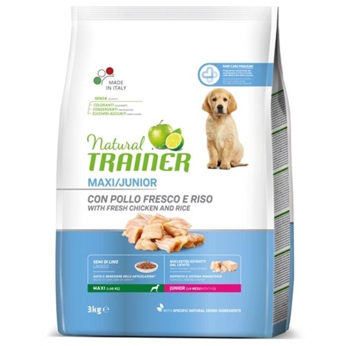 Natural trainer dog junior maxi chicken